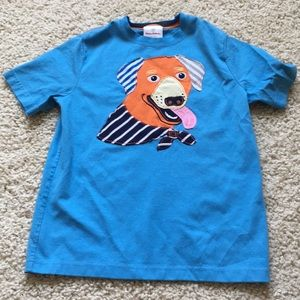 Hanna Andersson doggy cotton T-shirt. 140